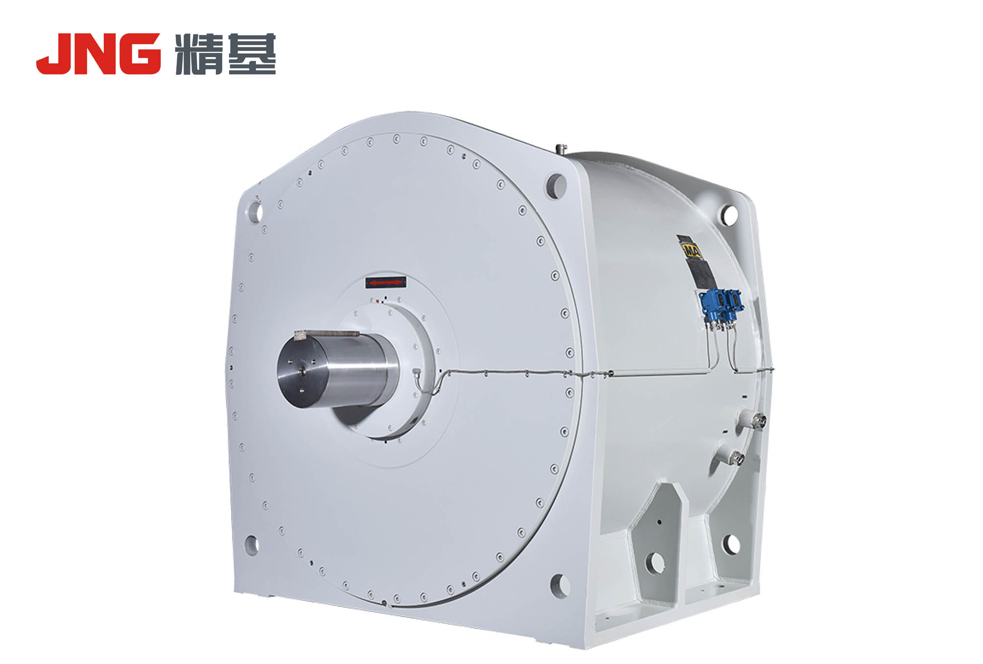 Three-phase permanent magnet synchronous motor for belt conveyor