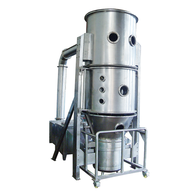 Factory Supply High Efficiency Vertical Fluid Bed Dryer Machine