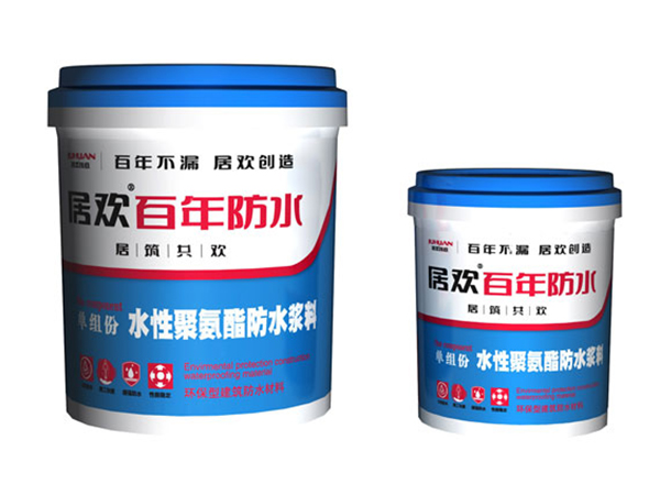 Juhua Single Component-Waterborne Polyurethane Waterproof Slurry