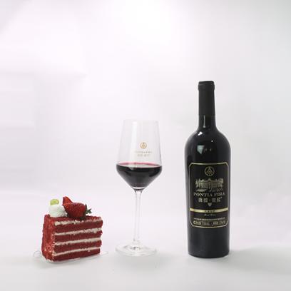 庞提·拉红葡萄酒(黑标)