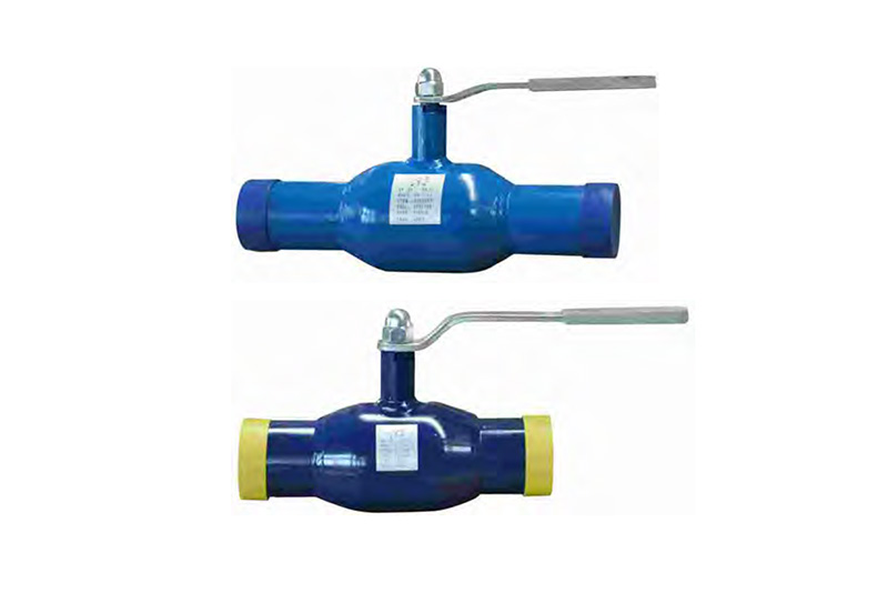 Q61F-16C25 Reduced diameter all welded ball valve