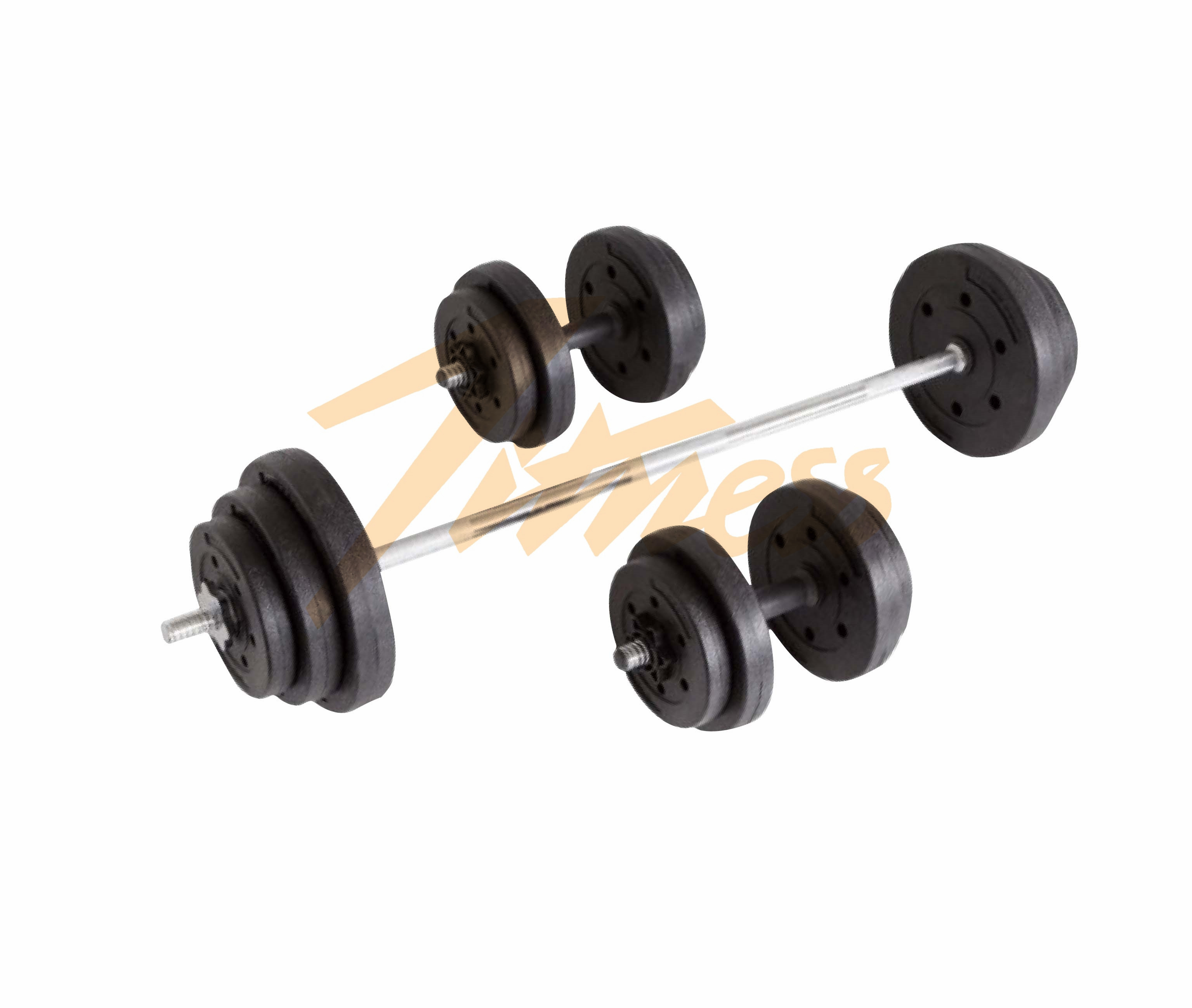 40KG CEMENT BARBELL SET