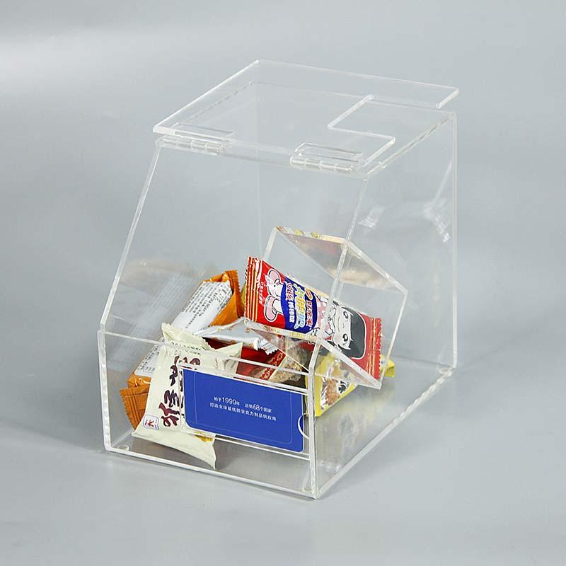 透明亞克力食品盒子定做