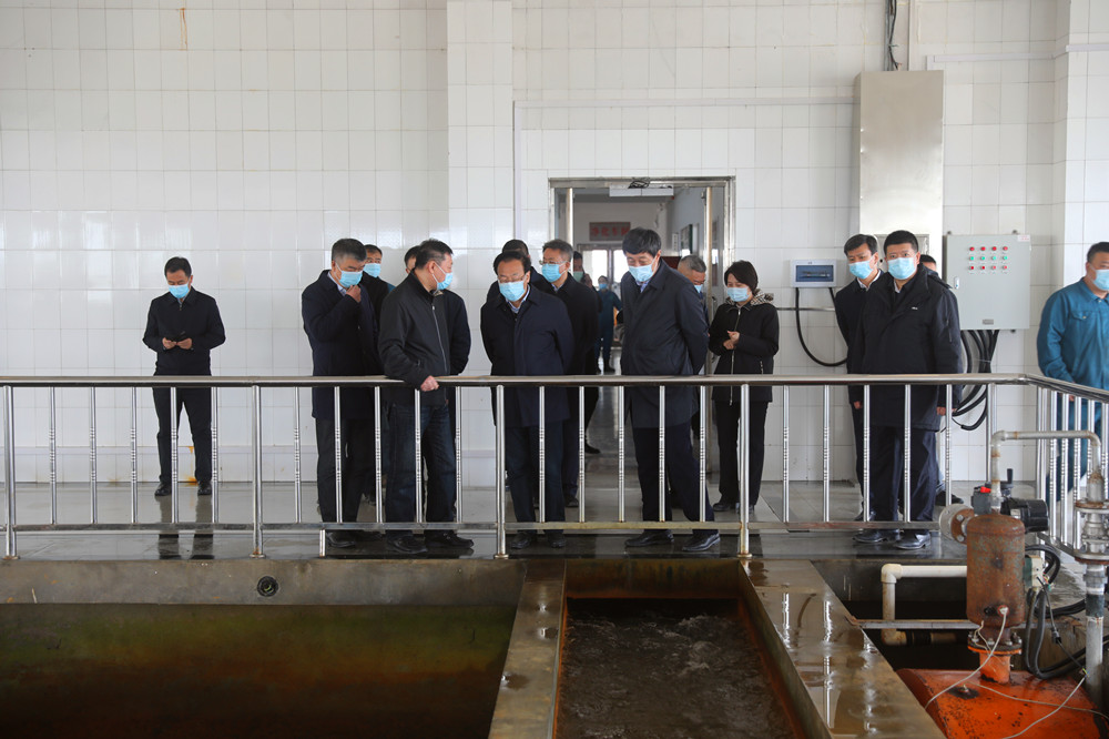 徐建国副省长到集团所属佳木斯供水公司调研指导工作