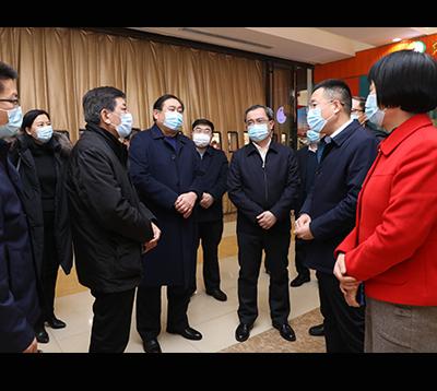山东省商务厅副厅长王洪平到集团调研