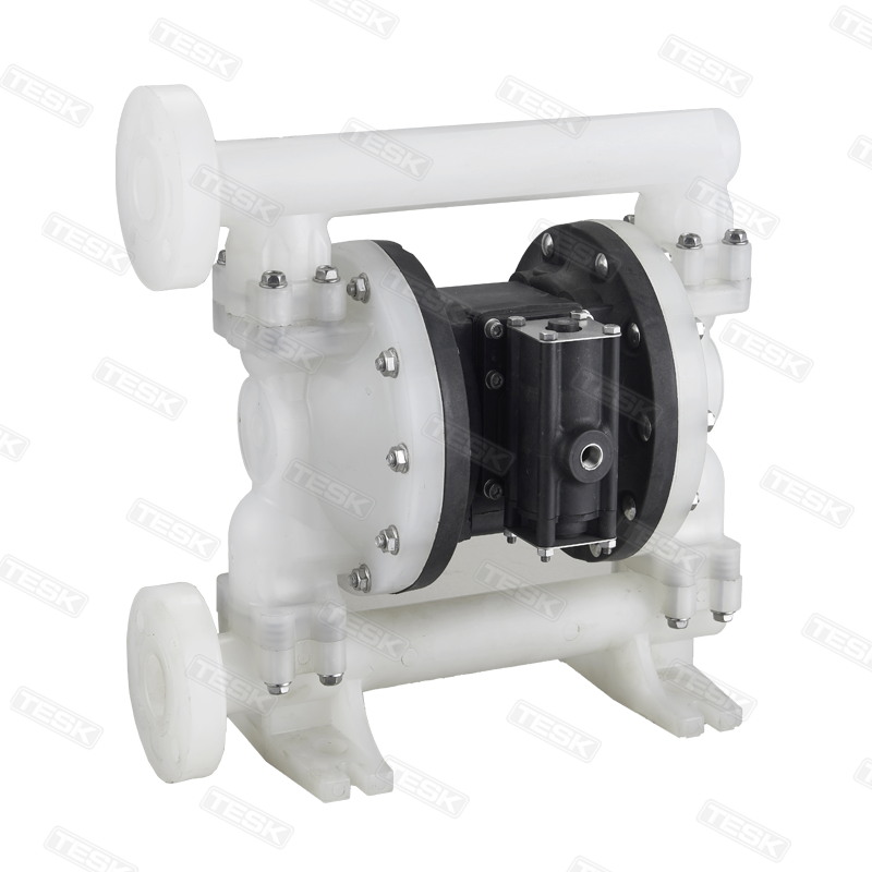 Plastic pneumatic diaphragm pump  PE