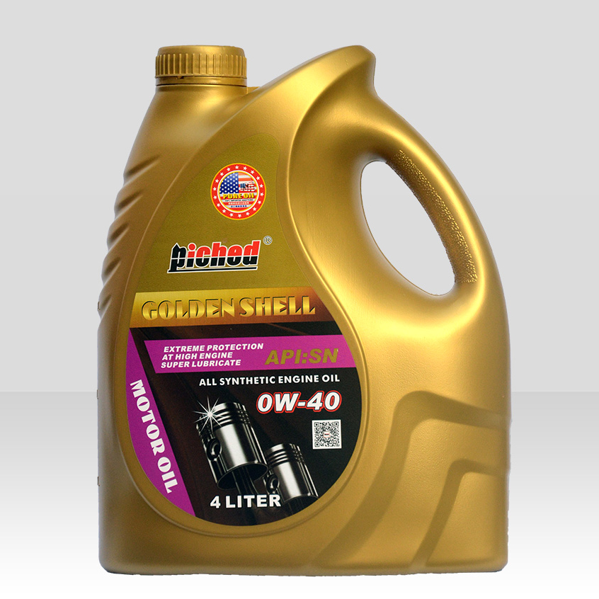 Lubricant lucringcating oil-Motor oil-金壳SN-0W-40-4L(1)