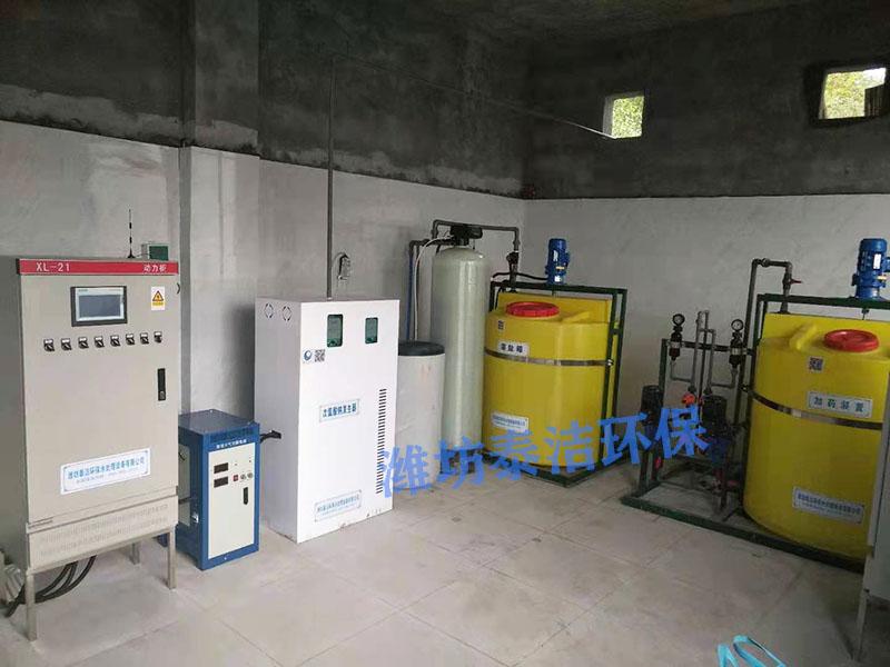 重慶水廠采用我司電解次氯酸鈉發生器進行自來水消毒
