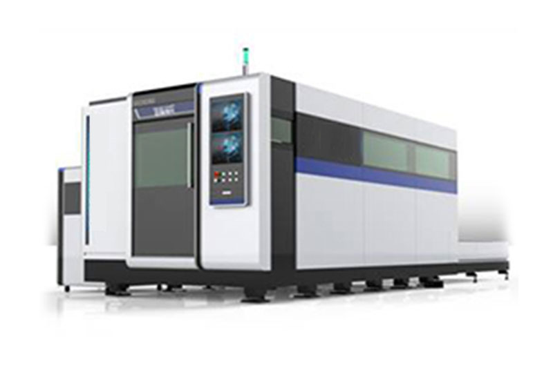 Closed exchange platform laser cutting machine