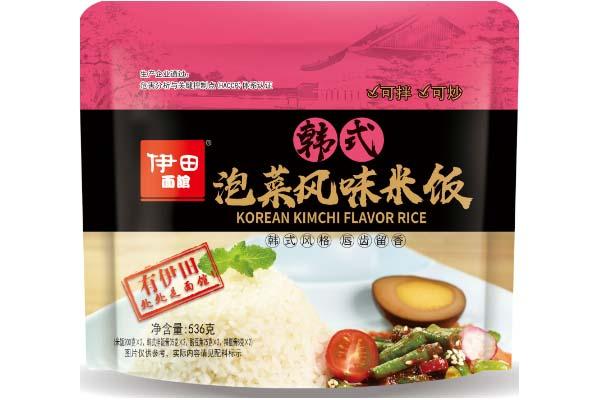 韩式泡菜风味米饭