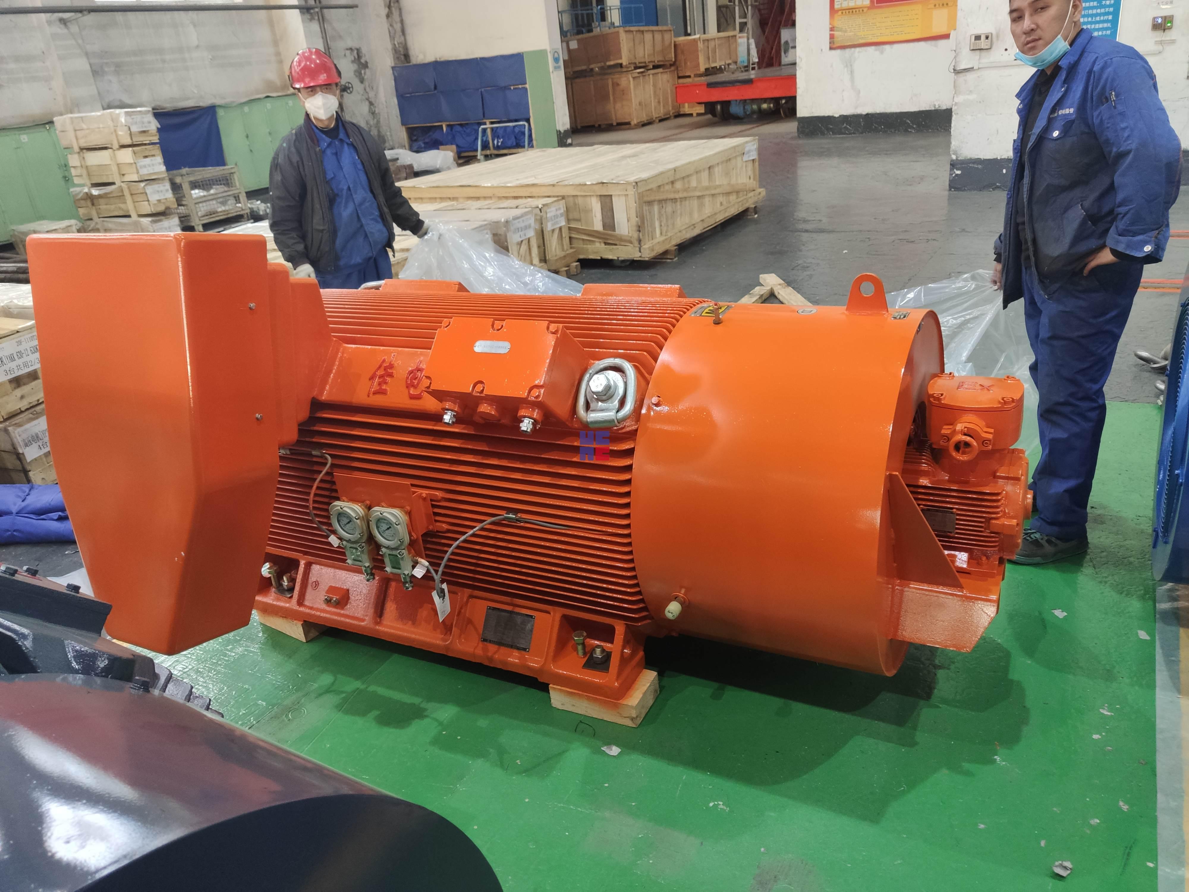 YBBP系列高压隔爆型变频调速三相异步电动机(H355~H560)