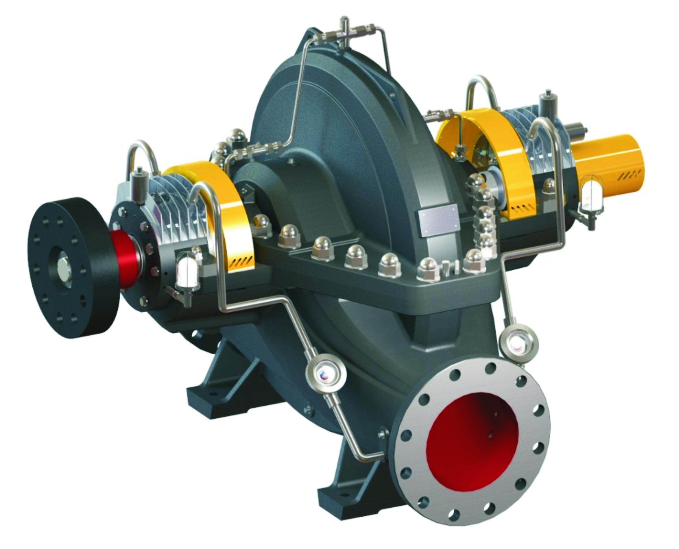 AS單級雙吸離心泵