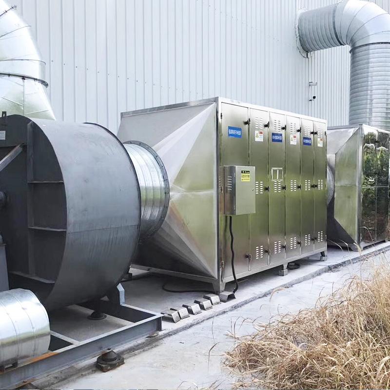 印花復合廠廢氣案例