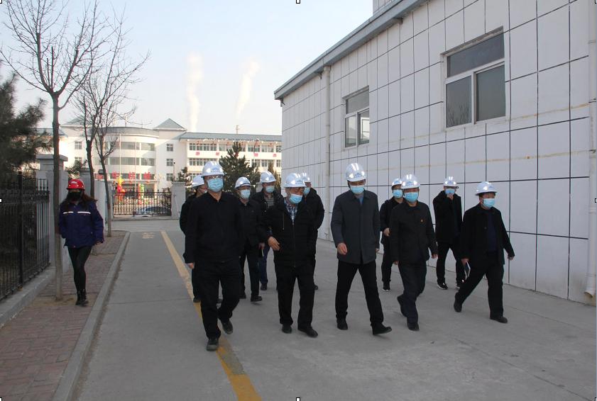 县政府领导莅临企业调研安全生产工作