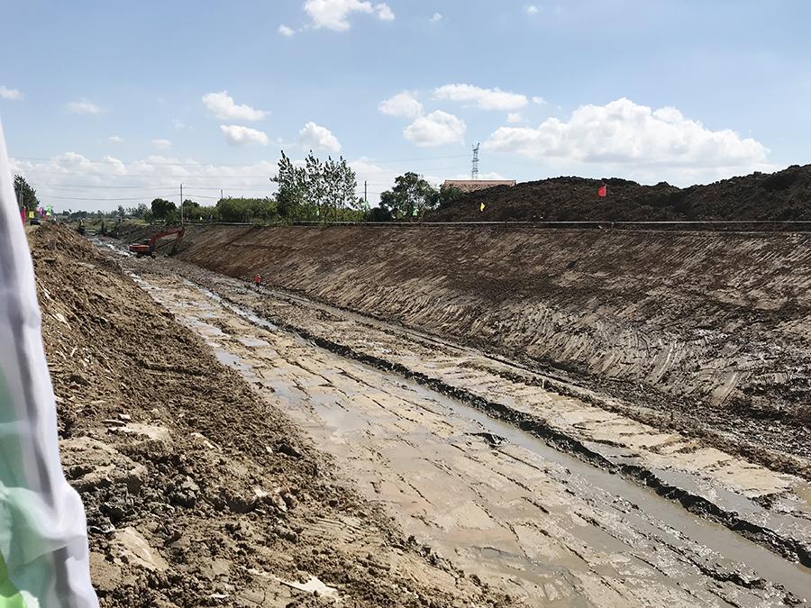 黄冈市黄州区巴河、白谭湖水系连通工程