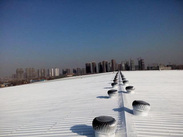 郑州南三环厂房隔热项目