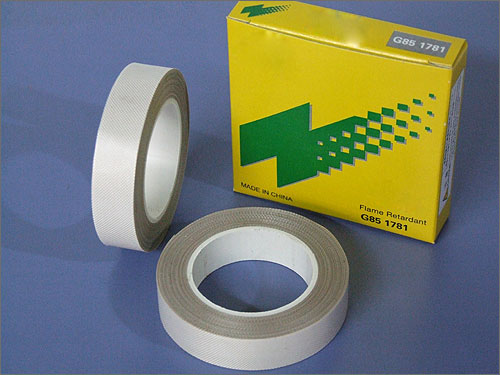 Silicone Rubber Coated Glass cloth tape with Pressure Sensitive Adhesive
