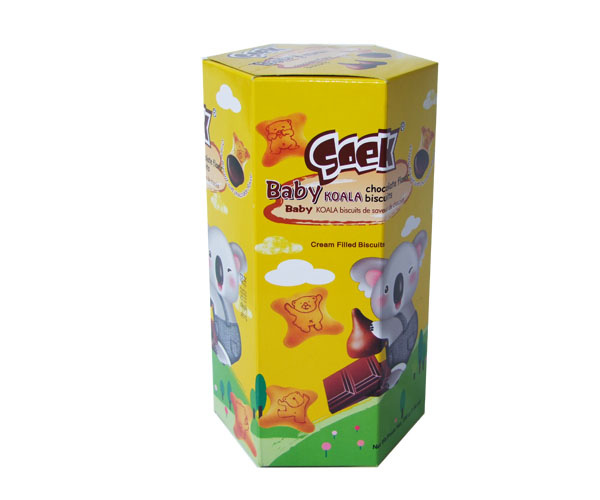 Baby Koala Cream Filled Biscuits Chocolate Filling 200gX10boxes 55X25X23cm