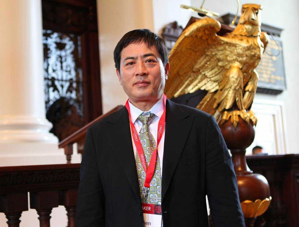"On April 24-26, 2015, President Chen Bin was invited to attend the ""Harvard China Forum"" held at Harvard University"