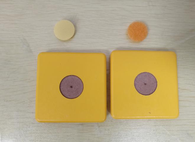 东莞绿川2038胶水粘魔术贴与方块木板成功案例
