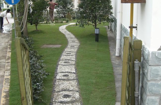 工程案例花園小路