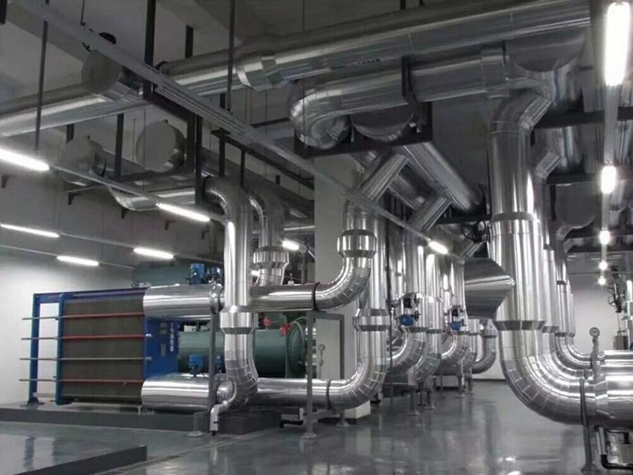 螺桿機+鍋爐空調系統