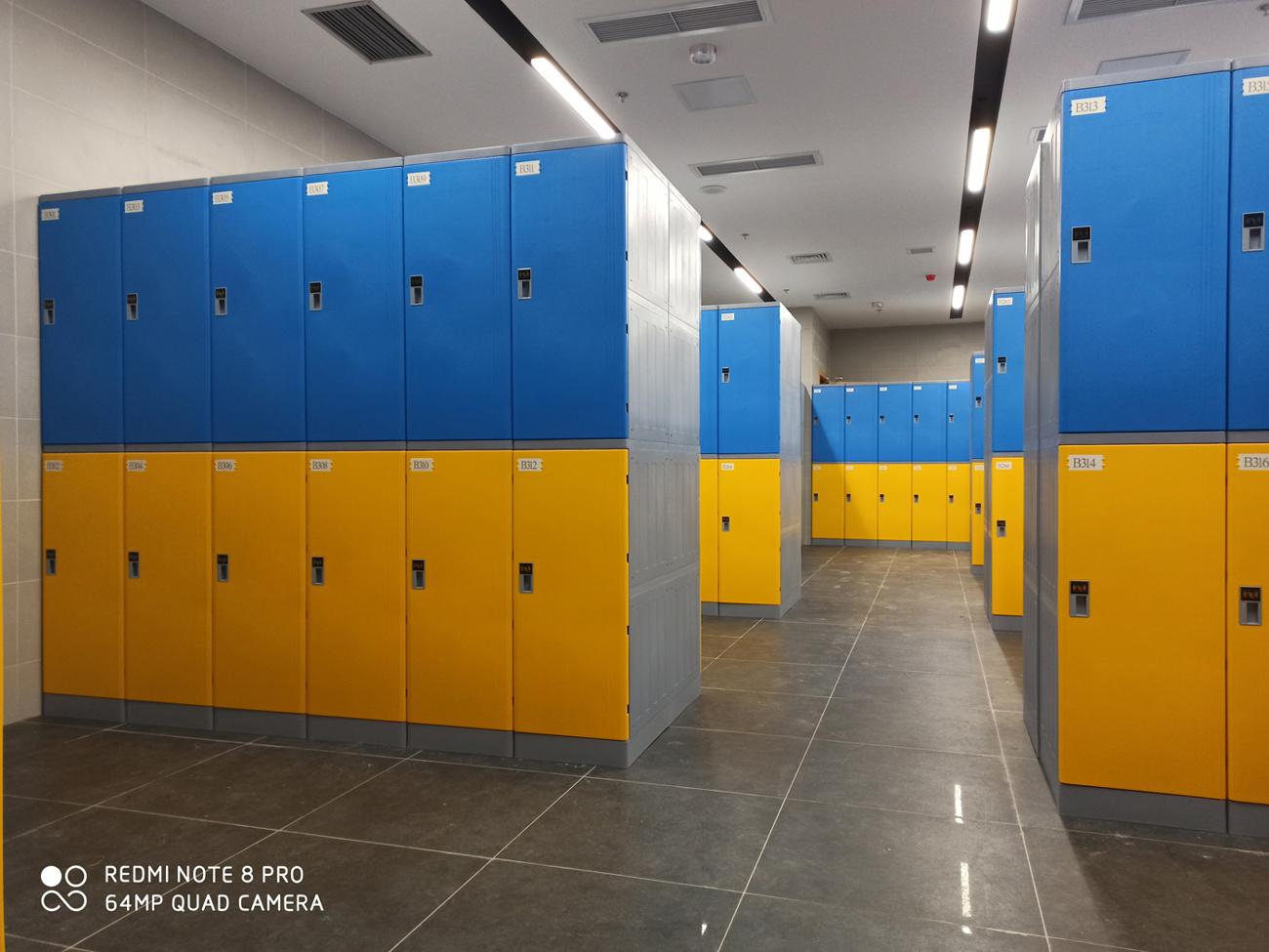 重慶體育館ABS更衣柜