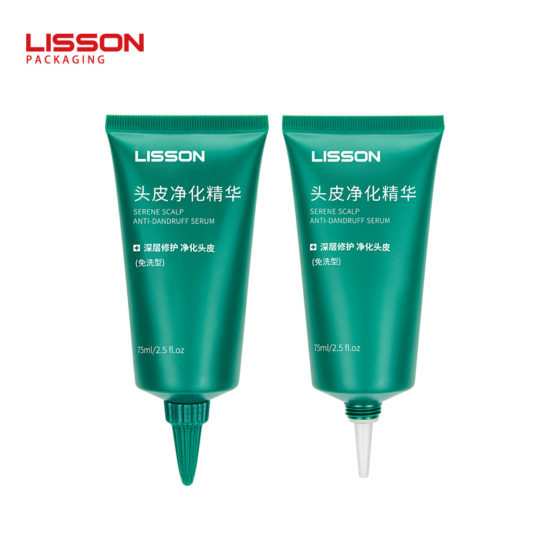 75ml Long Nozzle Squeeze Tube for Scalp Care