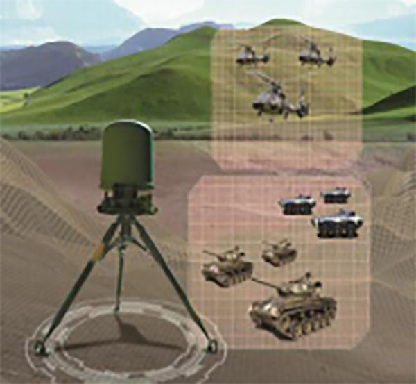 TH-R315A DBF边防侦察雷达