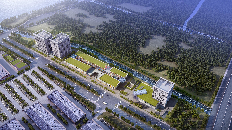 集团动态丨苏州市现代农产品物流园一期商业配套项目顺利开工