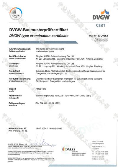 DVGW-EN549