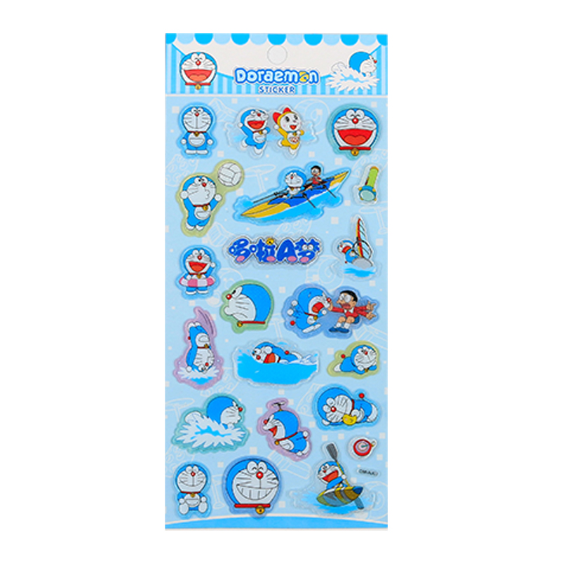Dm-aj Doraemon Three-dimensional Bubble Shell Sticker