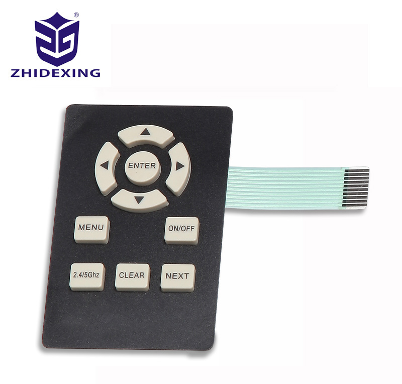 Silicone membrane switch