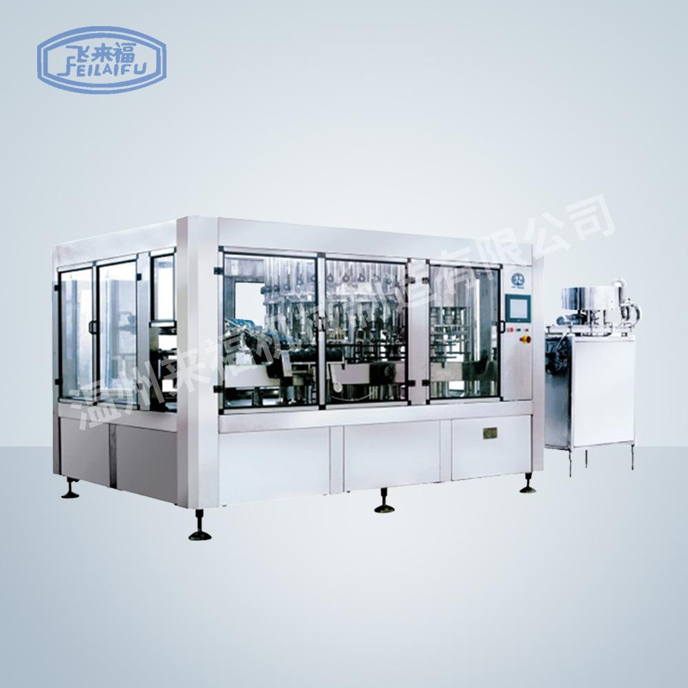 JR32-32-10 15000B/H沖瓶灌裝旋蓋三合一機組