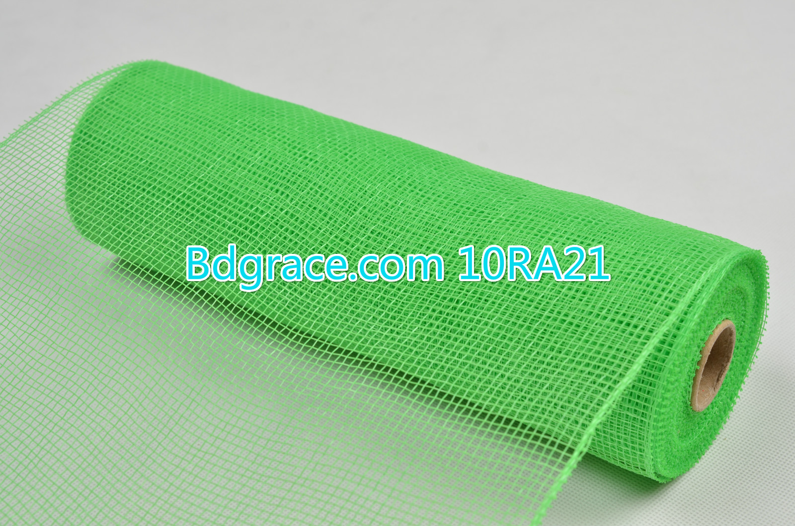 10inch Plain Solid Mesh 10RA21 Green