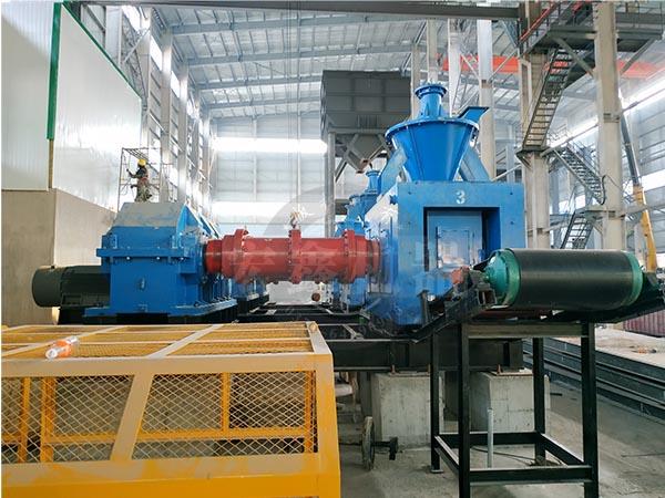 鄭州宏鑫壓球機生產線在用戶現場安裝完成