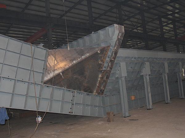 連云港港墟溝東泊位區和廟嶺散貨泊位區堆場工藝連接工程刮板給料機3