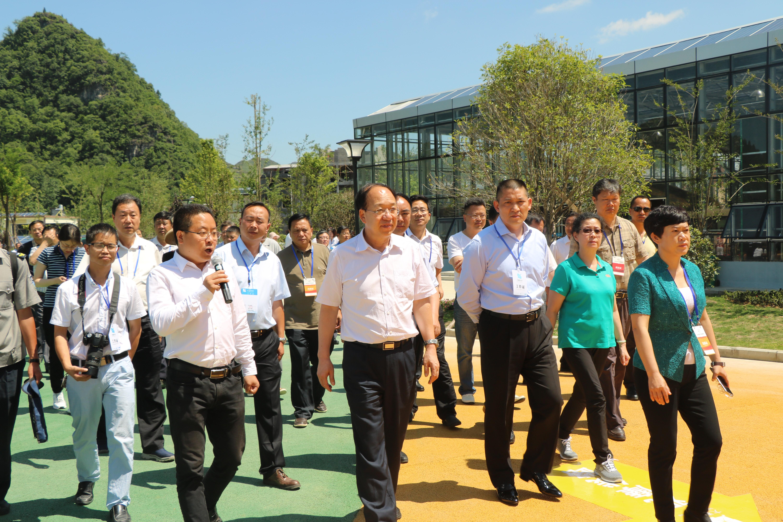 貴州副省長劉遠坤到公司視察工作