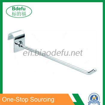 Supermarket Store Metal Security Hook for oval bar