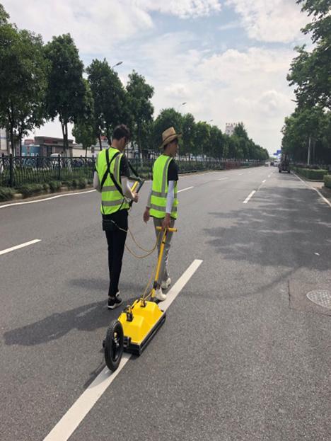 寧波東部新城道路災害探測
