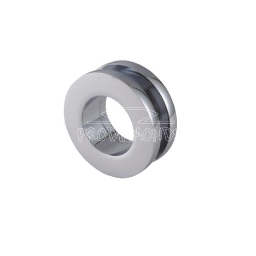 Sliding door handle for 8mm glass
