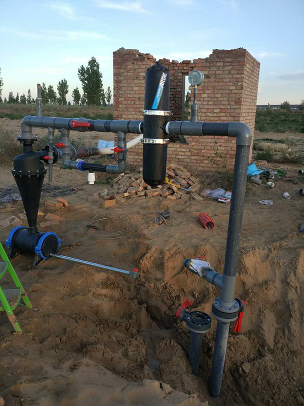 永潤灌溉為用戶提供一站式高效節水的灌溉方案