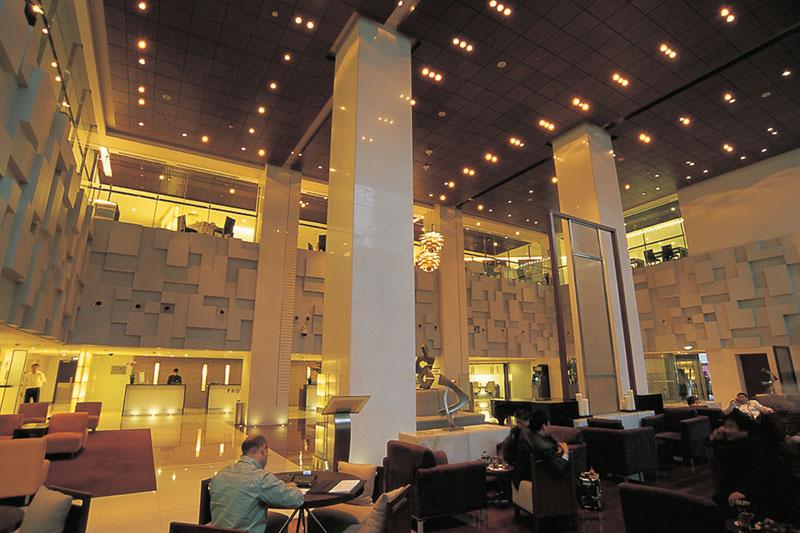 上海古井假日酒店室內餐廳裝飾