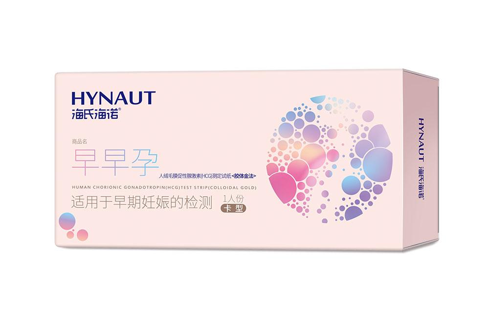 人絨毛膜促性腺激素(HCG)測定試紙(膠體金法)卡型1人份