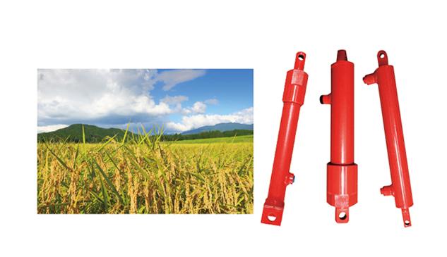 水稻聯合收割機液壓油缸