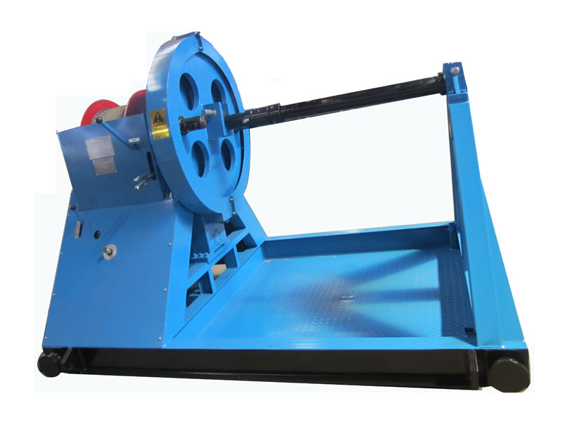 DSJ**YS  型液壓倒繩機(同軸引繩滾筒)