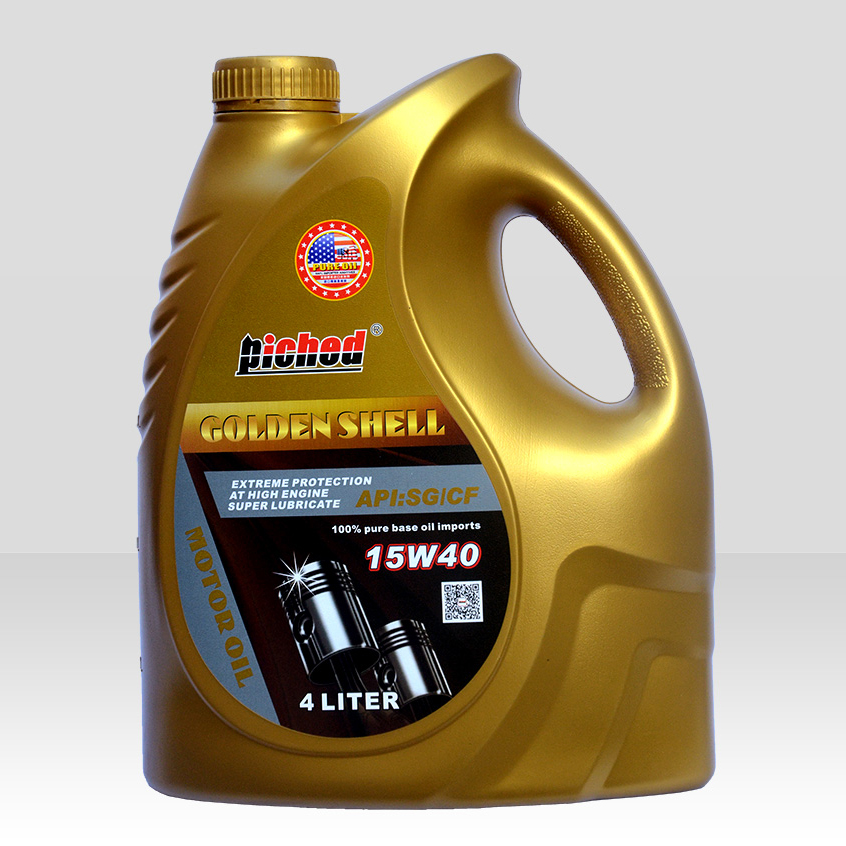 Lubricant lucringcating oil-Motor oil-金壳SG-CF-15W40_4L-F