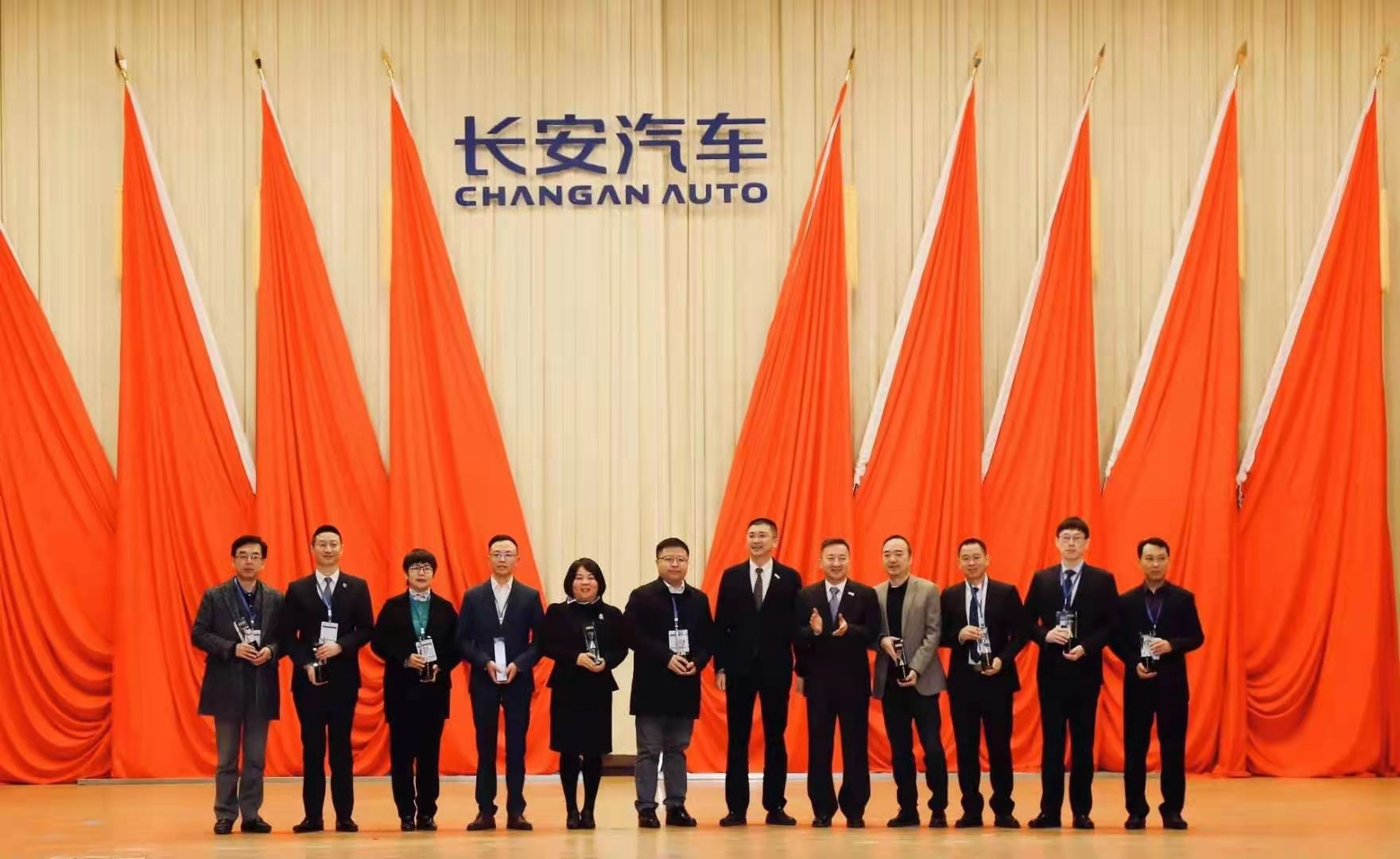 "CALB Claimed the ""New Energy Contribution Award"" of Changan Automobile for Three Consecutive Years."