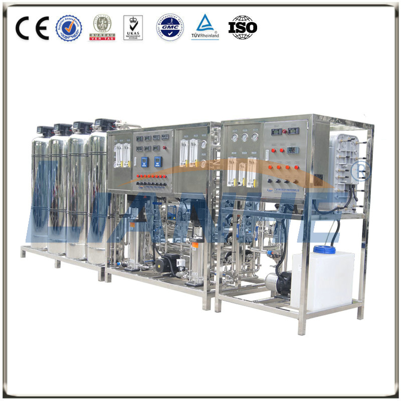 1500/H Double-stage RO Water Treatment with EDI System