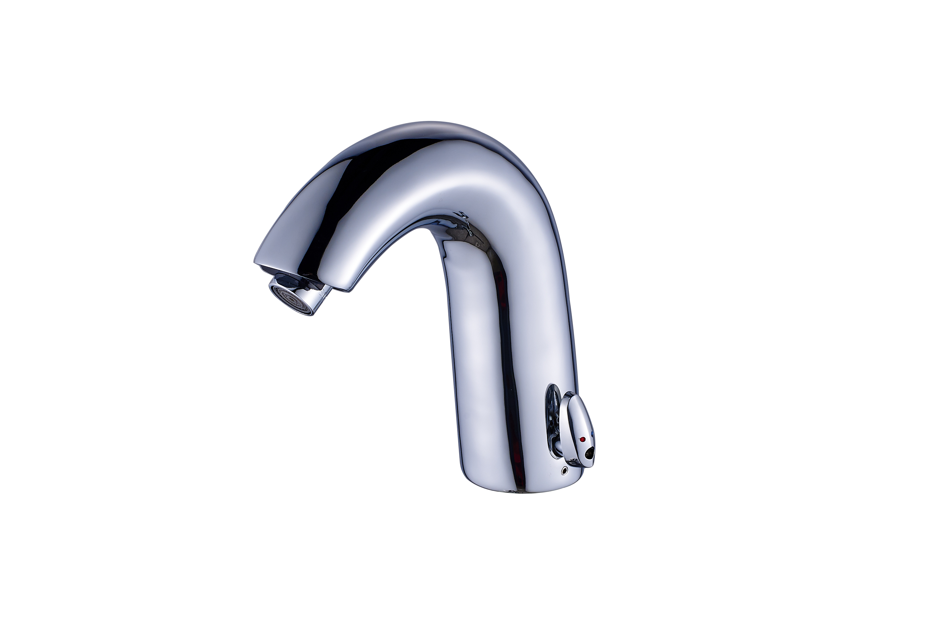Single Lever For Temperature Control Touchless Automatic Basin Faucets